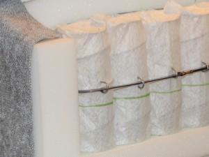 Tonnen-Taschenfederkern mit Schaumzarge und Stahlbandrahmen